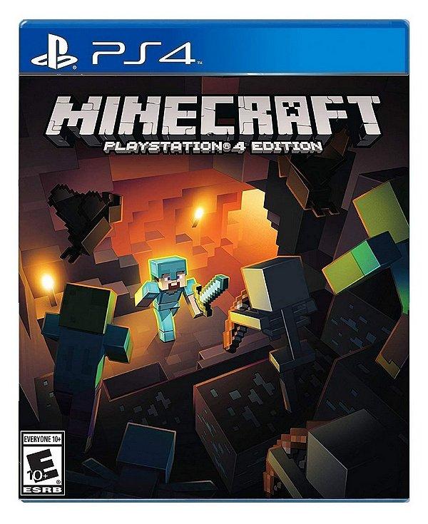 Minecraft para PS4 - Mídia Digital