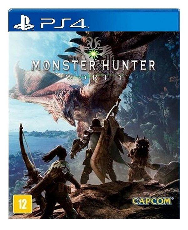 Monster Hunter World para ps4 - Mídia Digital