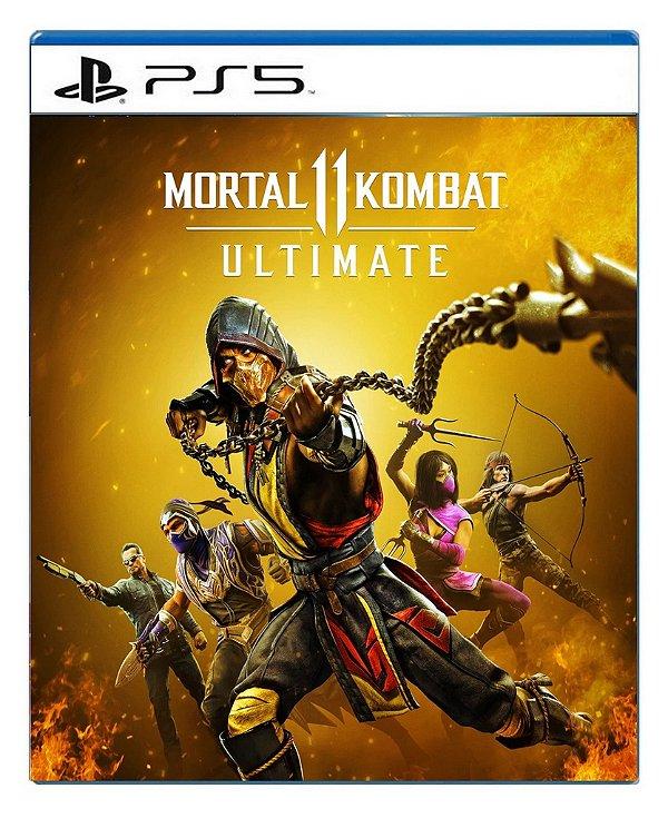 Mortal kombat 11 Ultimate para PS5 - Mídia Digital