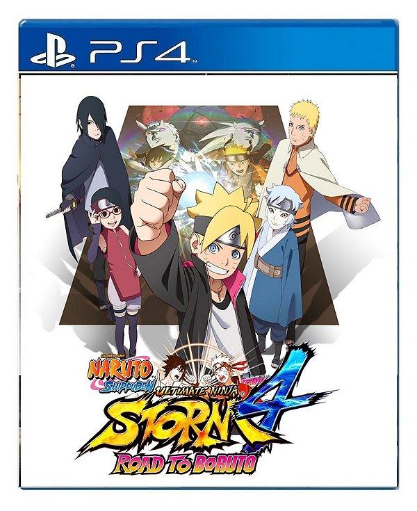 Naruto Shippuden Ultimate Ninja Storm 4 Road To Boruto para PS4 - Mídia Digital