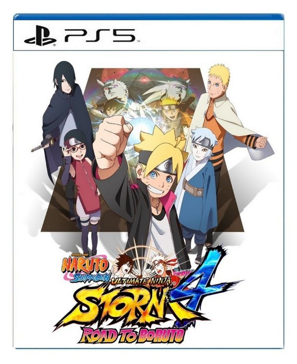 Naruto Shippuden Ultimate Ninja Storm 4 Road To Boruto para PS5 - Mídia Digital