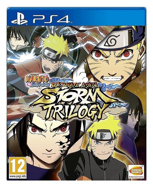 Naruto Storm Trilogy para ps4 - Mídia Digital