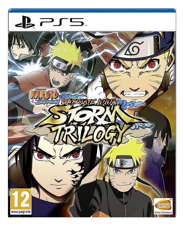 Naruto Storm Trilogy para ps5 - Mídia Digital