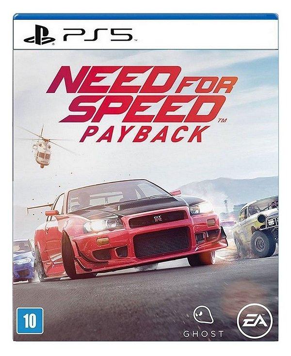 Need for Speed Payback para PS5 - Mídia Digital
