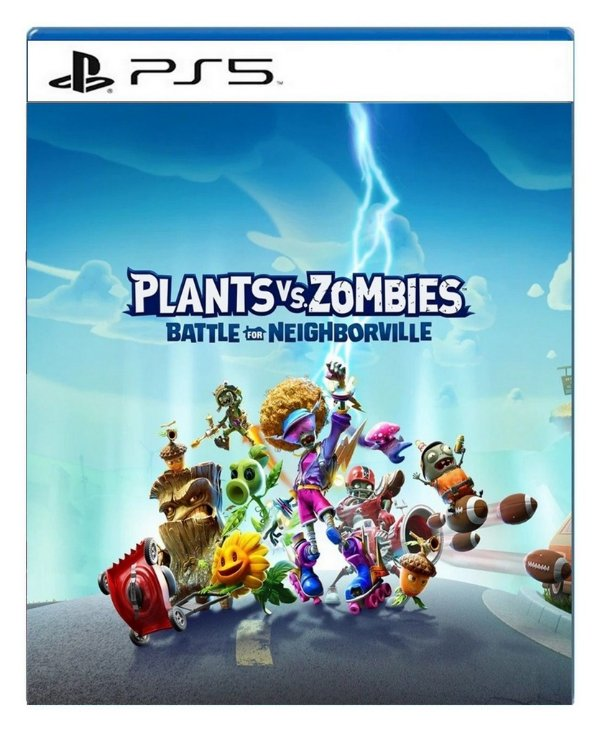 Plants vs Zombies Battle for Neighborville para ps5 - Mídia Digital