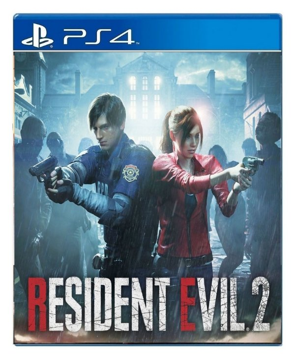 Resident Evil 2 para PS4 - Mídia Digital