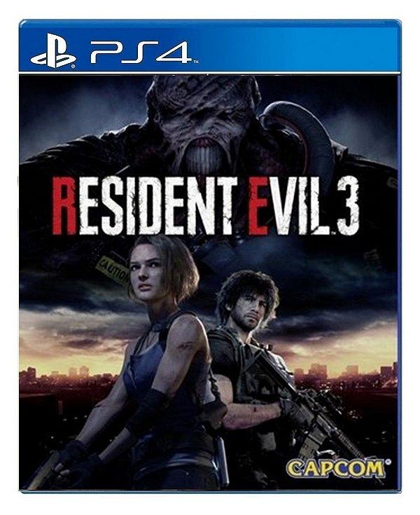 Resident Evil 3 para PS4 - Mídia Digital
