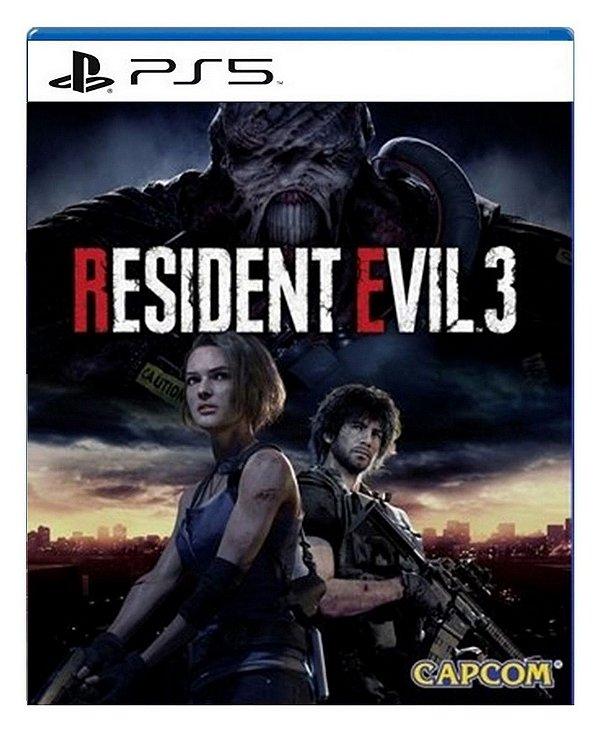Resident Evil 3 para PS5 - Mídia Digital