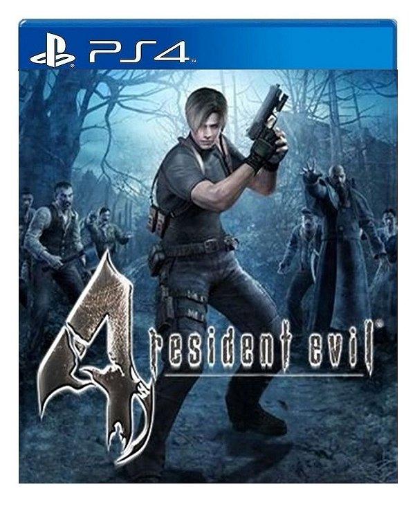 Resident Evil 4 para ps4 - Mídia Digital