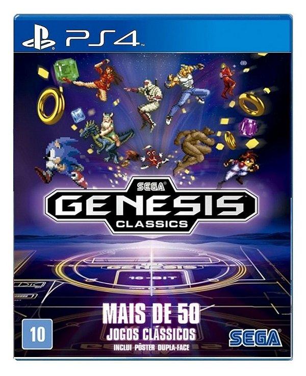 Sega Genesis Classics para PS4 - Mídia Digital