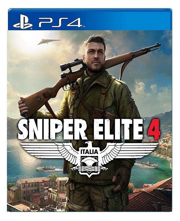 Sniper Elite 4 para ps4 - Mídia Digital