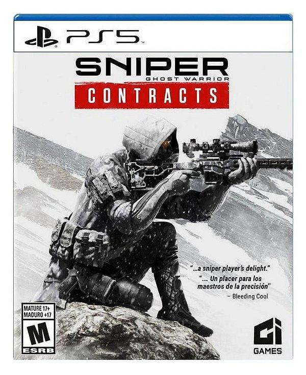 Sniper Ghost Warrior Contracts para ps5 - Mídia Digital