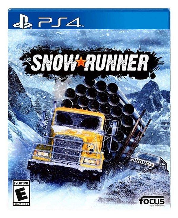 SnowRunner para ps4 - Mídia Digital