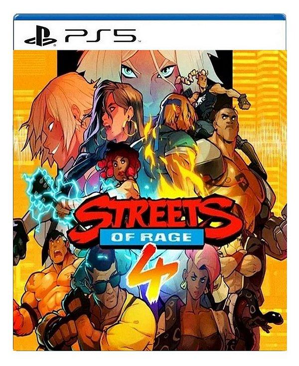Streets Of Rage 4 para PS5 - Mídia Digital