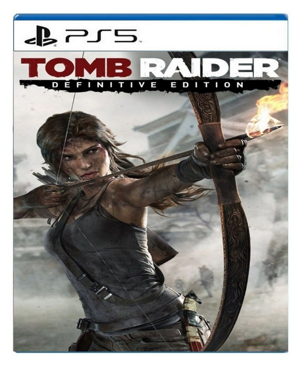 Tomb Raider Definitive Edition para ps5 - Mídia Digital