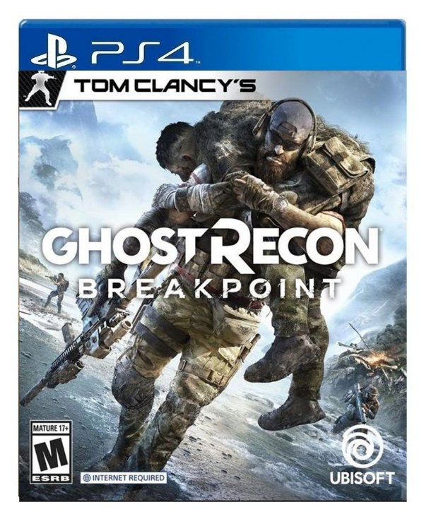 Tom Clancy's Ghost Recon Breakpoint para ps4 - Mídia Digital