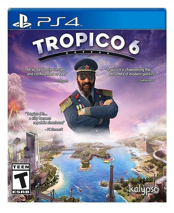 Tropico 6 para ps4 - Mídia Digital