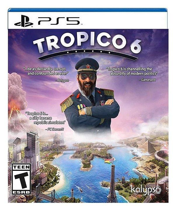 Tropico 6 para ps5 - Mídia Digital