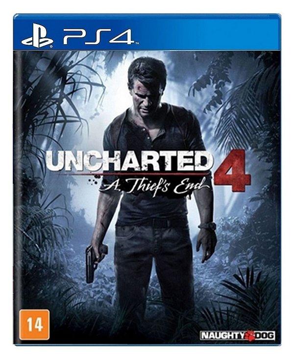 Uncharted 4: A Thief's End para PS4 - Mídia Digital