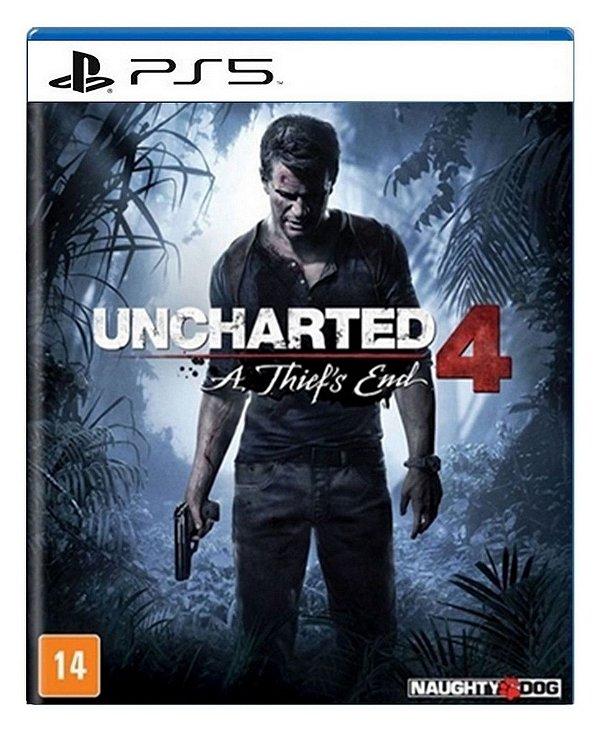 Uncharted 4: A Thief's End para PS5 - Mídia Digital