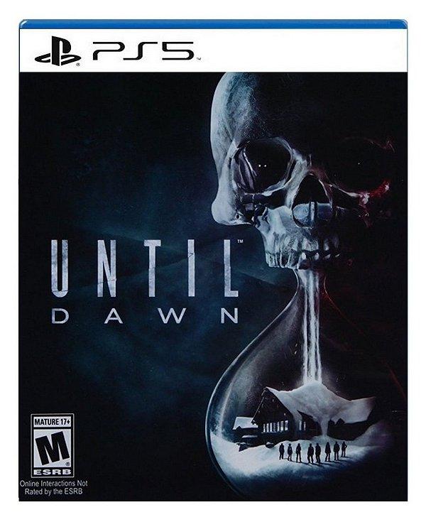 Until Dawn para ps5 - Mídia Digital