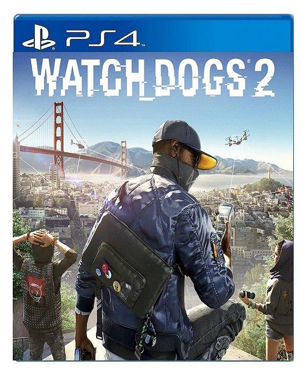 Watch Dogs 2 para ps4 - Mídia Digital