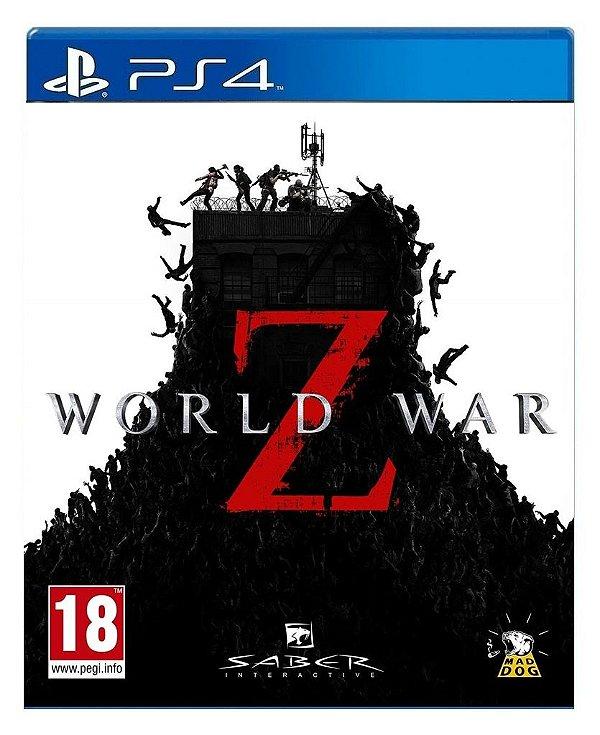 World War Z para ps4 - Mídia Digital