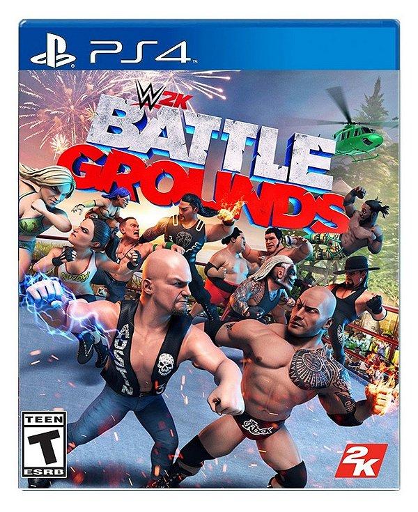 WWE 2K Battlegroundspara PS4 - Mídia Digital
