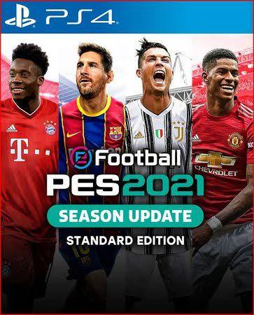 EFOOTBALL PES 2021 PS4 MIDIA DIGITAL