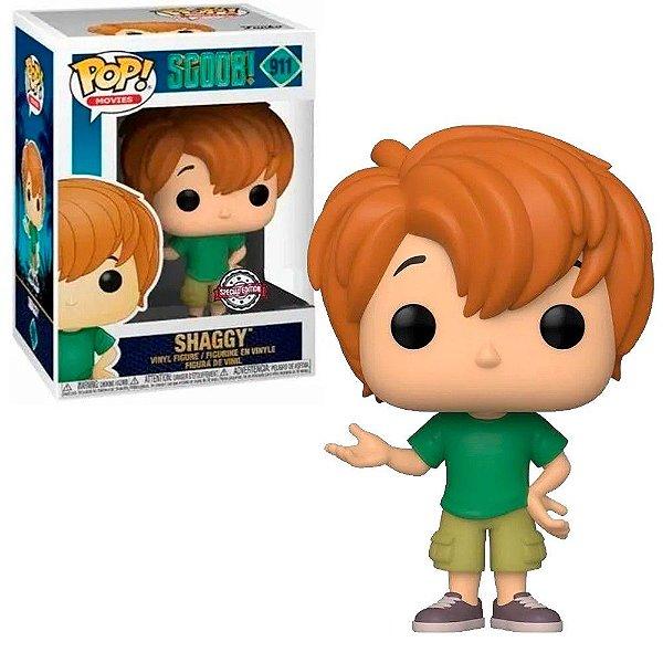 Funko Pop! Young Shaggy Salsicha Scooby-Doo 911