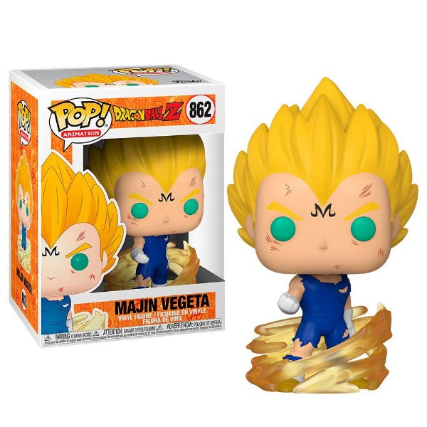 Funko Pop! Dragon Ball Z Majin Vegeta 862