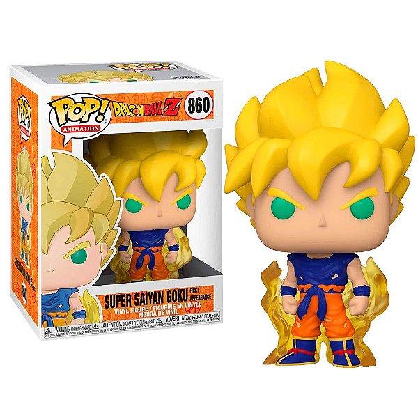 Funko Pop! Dragon Ball Z Goku Super Saiyan 860