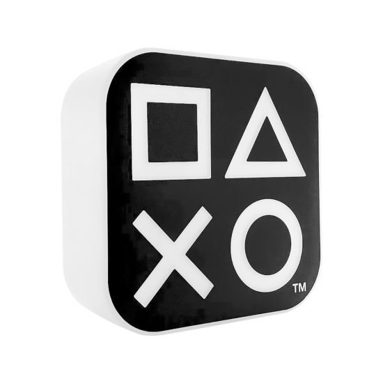 Box PlayStation luminaria preto