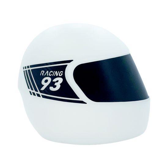 Capacete natural luminaria racing 93