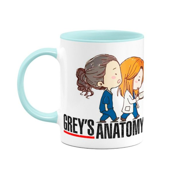 Caneca Baby Blue Greys Anatomy - You're My Person