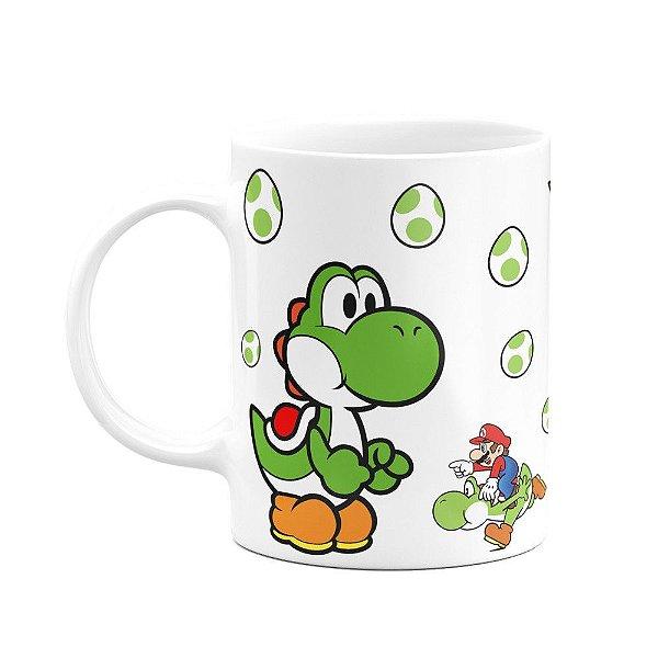 Caneca Mario - Yoshi