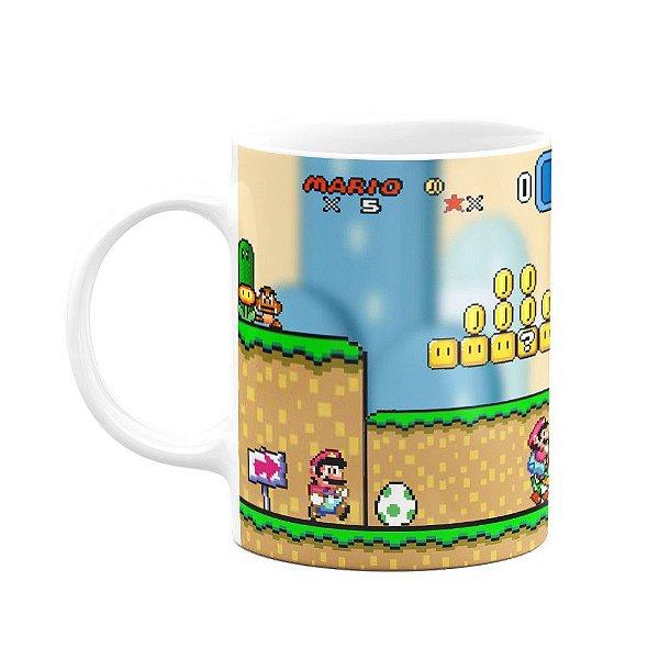 Caneca Super Mario World Screen Game