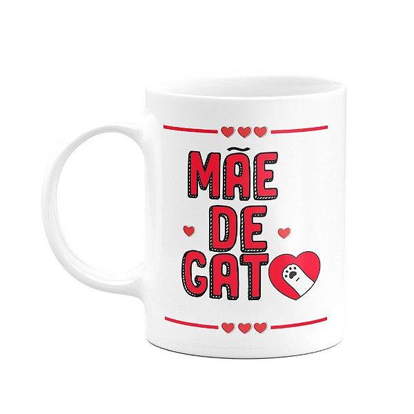 Caneca Pets - Mãe de gato