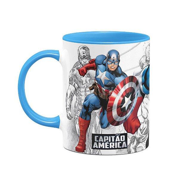 Caneca Capitão América - B-blue