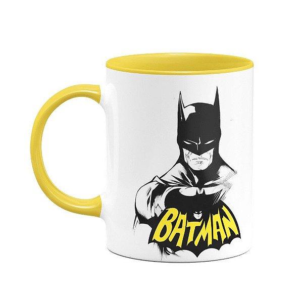 Caneca Batman - B-yellow
