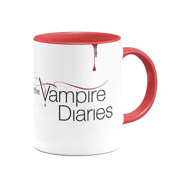 Caneca The Vampire Diaries - B-red