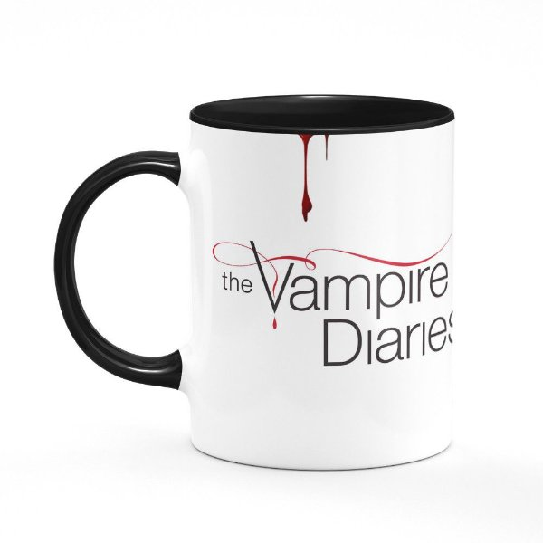 Caneca The Vampire Diaries - B-black