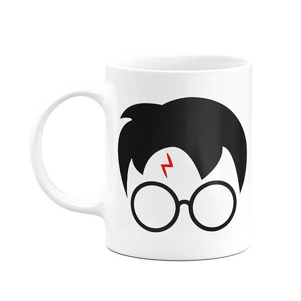 Caneca Harry Potter - Branca