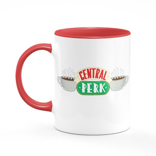 Caneca B-red Friends Central Perk