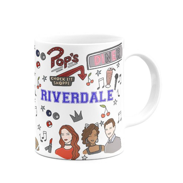 Caneca Riverdale branca