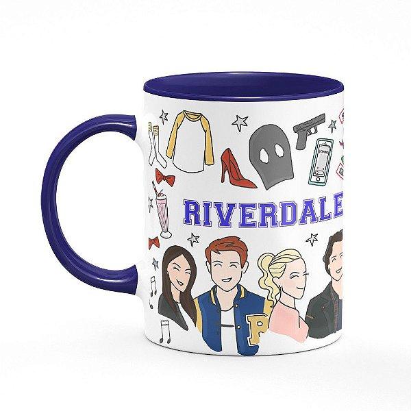 Caneca B-blue Riverdale