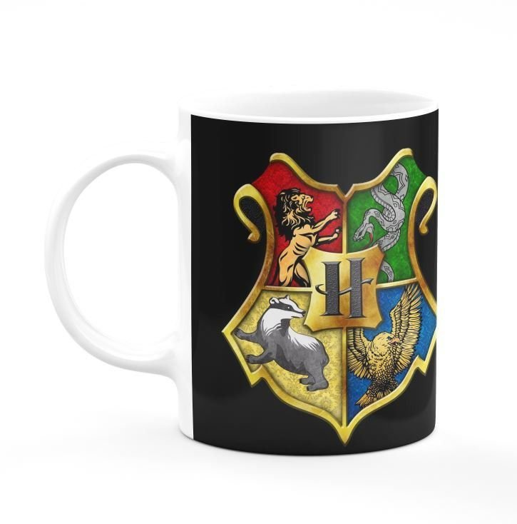 Caneca Casas Harry Potter