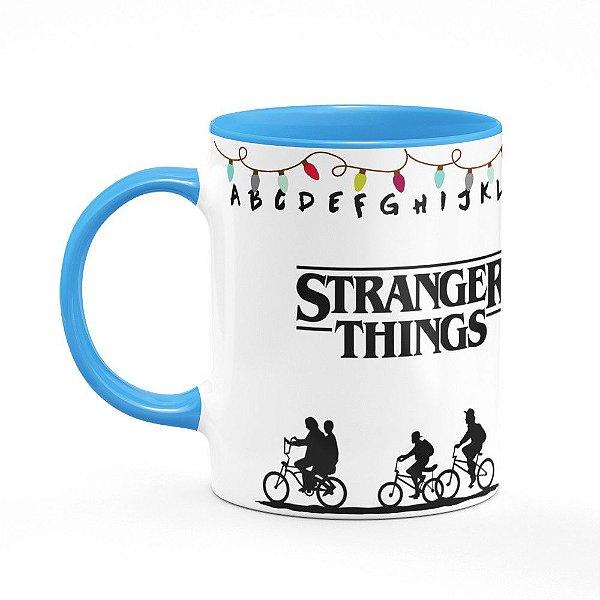 Caneca B-blue Stranger Things