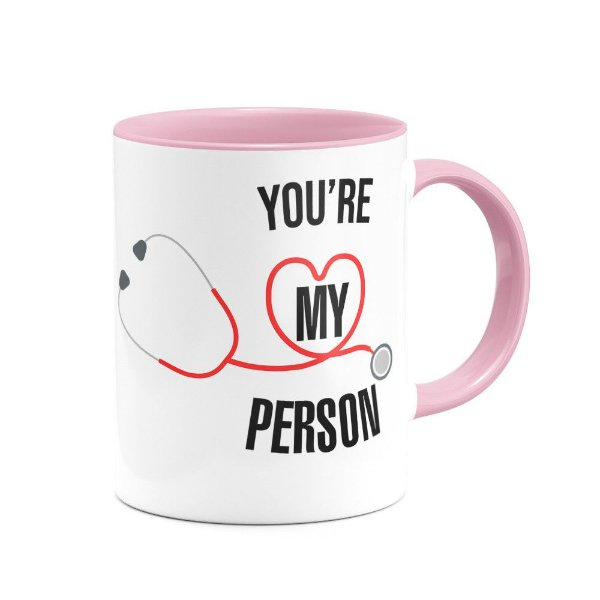 Caneca B-pink Greys Anatomy - You're My Person