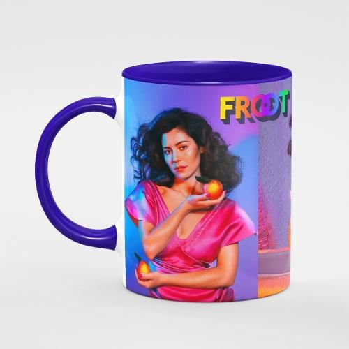 Caneca Marina Diamandis Diamonds Álbum Froot